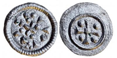 II. Géza 1141-62 denár ÉH 56 R!