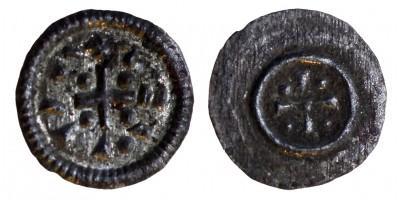 II. Géza 1141-62 denár ÉH 56