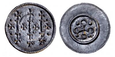 II. Géza 1141-62 denár ÉH 67