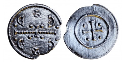 II. Géza 1141-62 denár ÉH 71