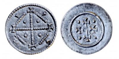 II. Géza 1141-62 denár ÉH 72