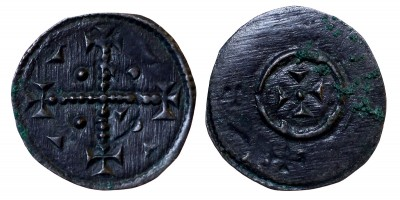 II. Géza 1141-62 denár ÉH 74