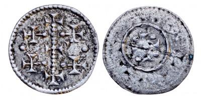 II. Géza 1141-62 denár ÉH 79