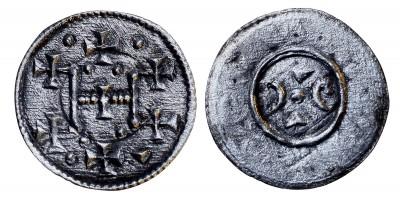 III. István 1162-72 denár ÉH 80