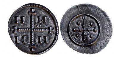 III. István 1162-72 denár ÉH - (ÉH 82 variánsa)