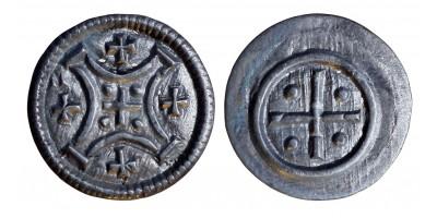 III. Béla 1172-96 denár ÉH 95