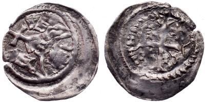 II. András 1205-35 denár ÉH 184 R!