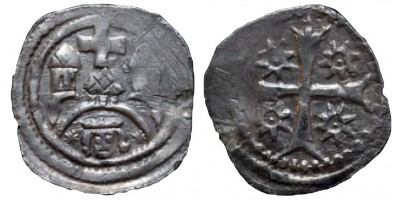 II.András denár ÉH 184 R!