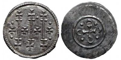 II. Géza 1141-62 denár ÉH67 R!