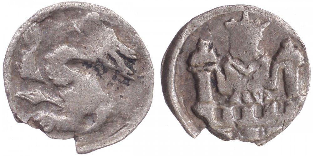 IV. László 1272-90 denár ÉH 292 R!