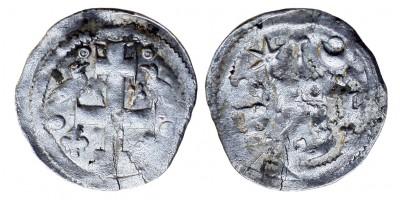 IV. László 1272-90 szlavón bagattino R!