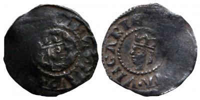 V. István 1245/1270-72 denár ÉH 268 incuse