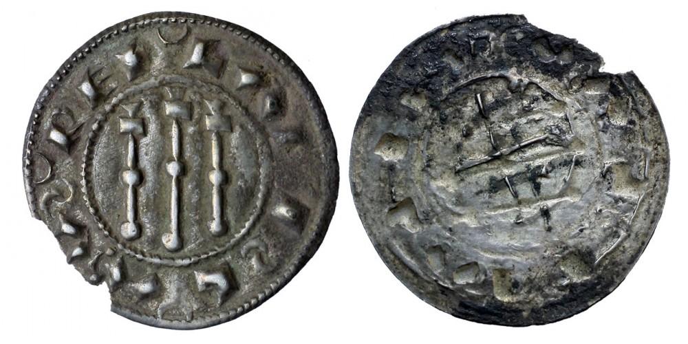 I. László 1077-95 denár ÉH 22