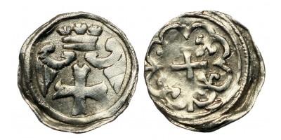 II. András 1205-35 denár ÉH 157