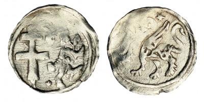 II. András 1205-35 denár ÉH 190
