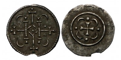 II. Géza 1141-62 denár ÉH 62 RR!