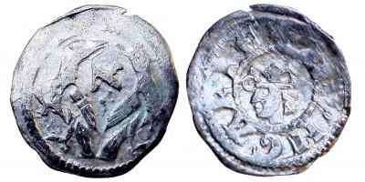 V. István 1245/1270-72 obulus ÉH 269