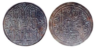 III. Béla 1172-96 rézpénz ÉH 114