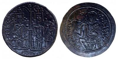 II. Béla 1172-96 rézpénz ÉH 114