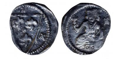 V. István 1245/1270-72 obulus ÉH 258