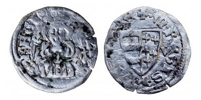 Károly Róbert 1307-42 denár ÉH 393