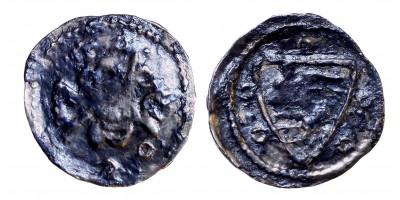 Károly Róbert 1307-42 denár Zágráb ÉH 356