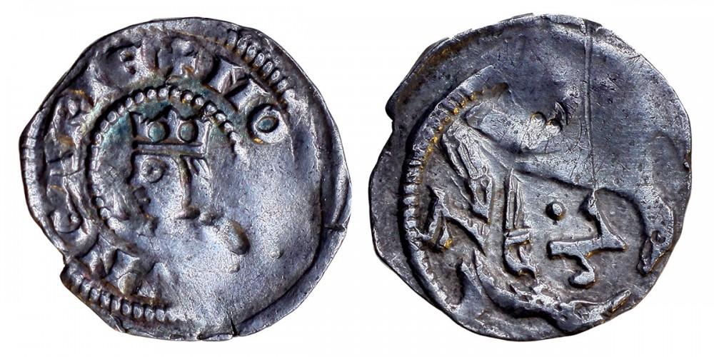 V. István 1245/1270-72 denár ÉH 268