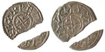 Orseolo Péter 1038-41/1044-46 denár ÉH2 RR!