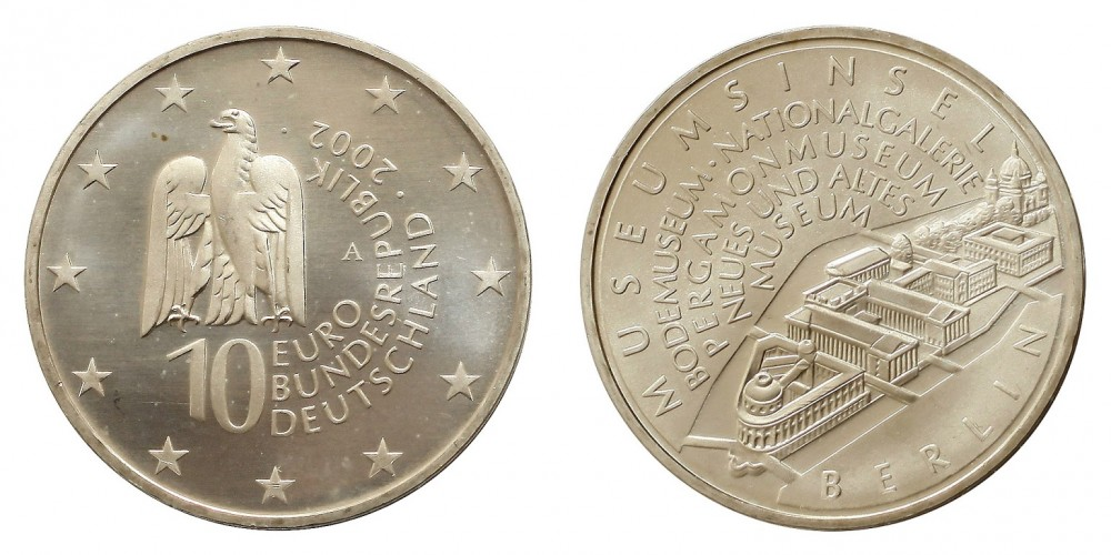 Németország 10 EURO 2002 BU Berlin