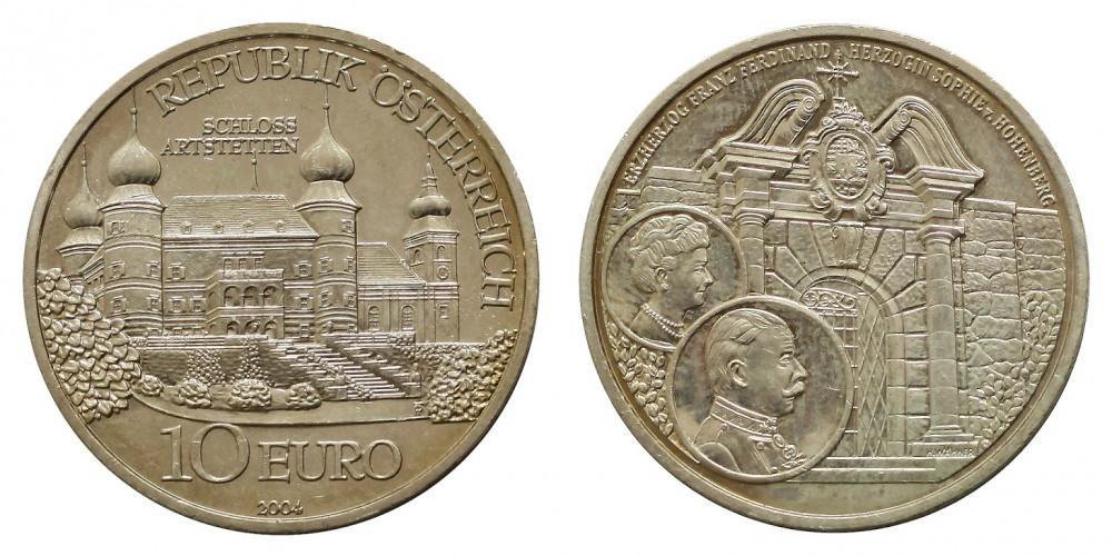 Ausztria 10 EURO 2006 BU Arstetten kastély