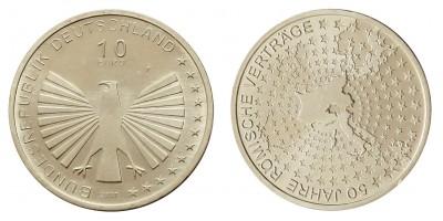 Németország 10 EURO 2007 BU Római Szerződés