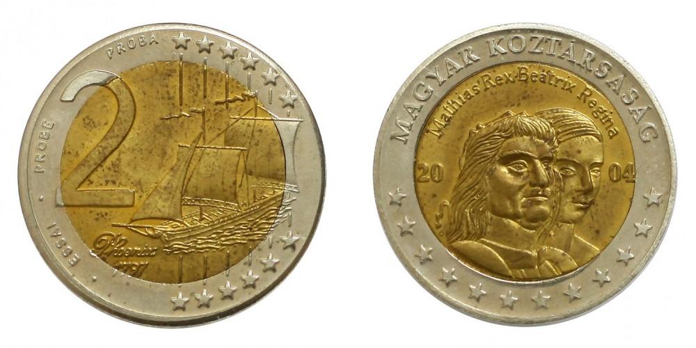 Magyar 2 euro 2004 próba