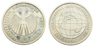 Németország 10 EURO 2005 BU Football VB