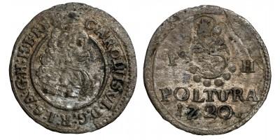 III.Károly poltura 1720