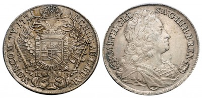 III. Károly tallér 1731 KB