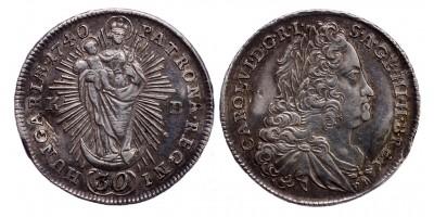 III.Károly 30 krajcár 1740 KB.