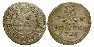 III.Károly poltura 1726 R!