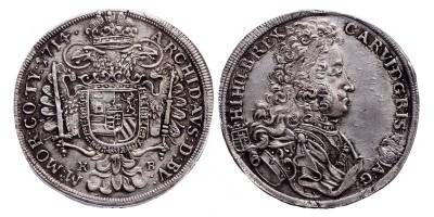 III.Károly 1/2 tallér 1714 KB.