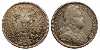 III.Károly 1/2 tallér 1732 KB.