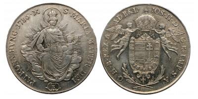 II.József tallér 1786 KB.