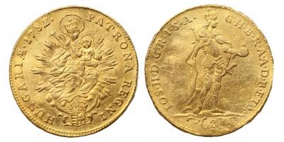 II.József 2 dukát 1782 vjn.