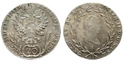 20 krajcár 1783 A