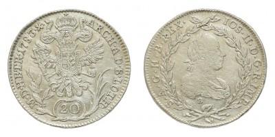 20 krajcár 1783 B