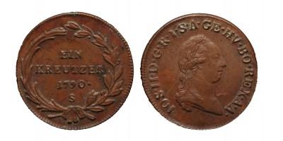 krajcár 1790