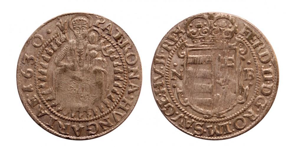 II.Ferdinánd garas 1630 NB.