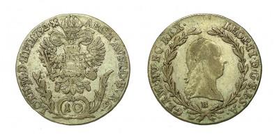 II.Lipót 10 krajcár 1792 B