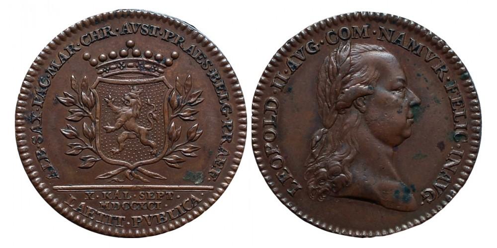 II.Lipót Belgium-Namur 1791