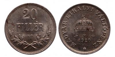 IV.Károly 20 Fillér 1920