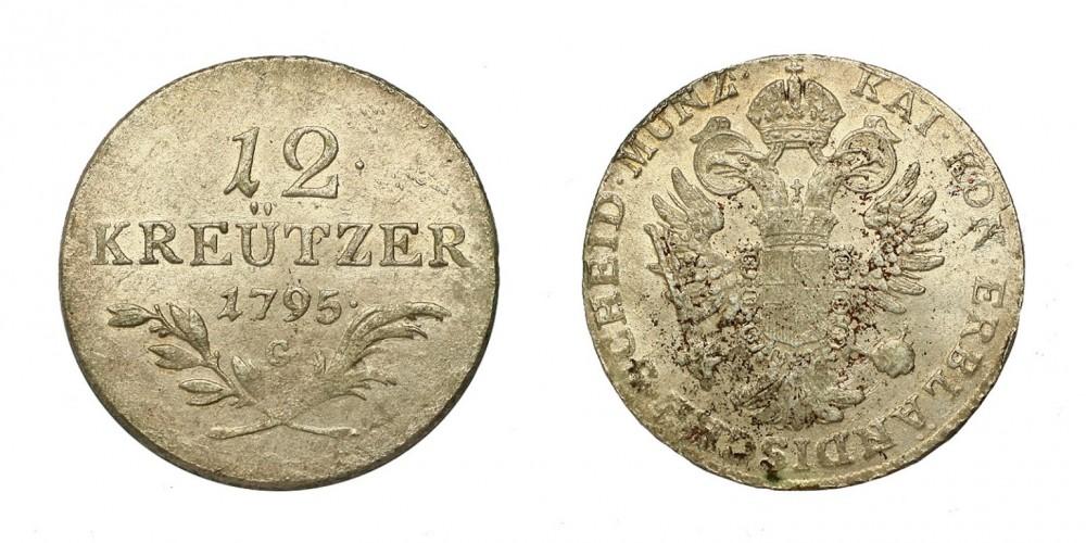 I.Ferenc 12 krajcár 1795 G