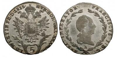 I.Ferenc 5 krajcár 1815 A